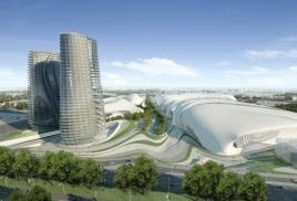 Водная фантазия – проект комплекса Экспо-Сити в Каире